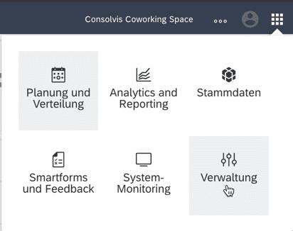 SAP FSM Appauswahl Verwaltung