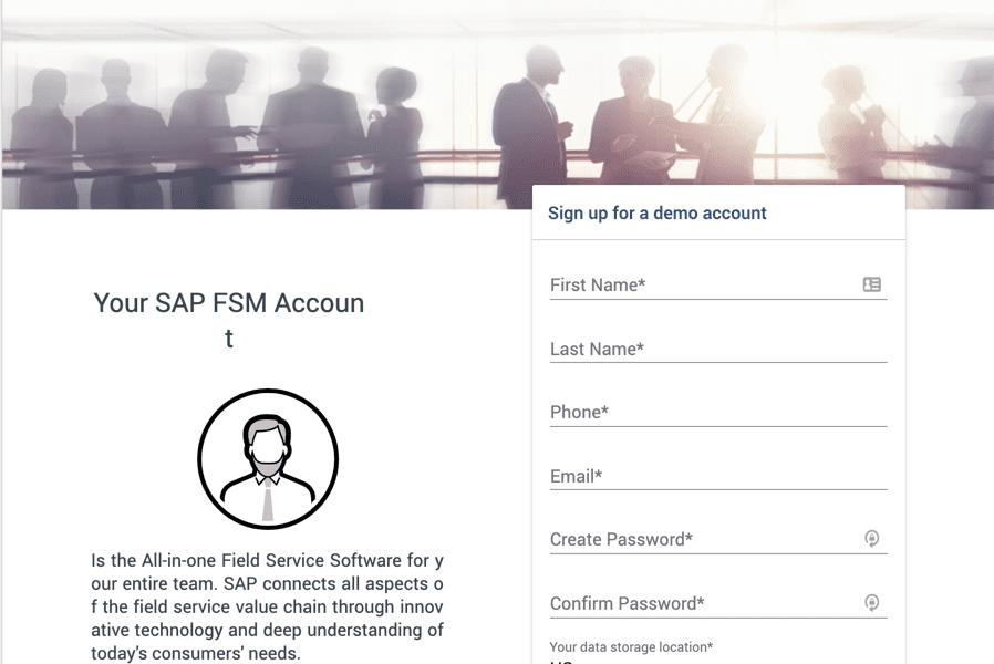SAP FSM Demo Account erstellen