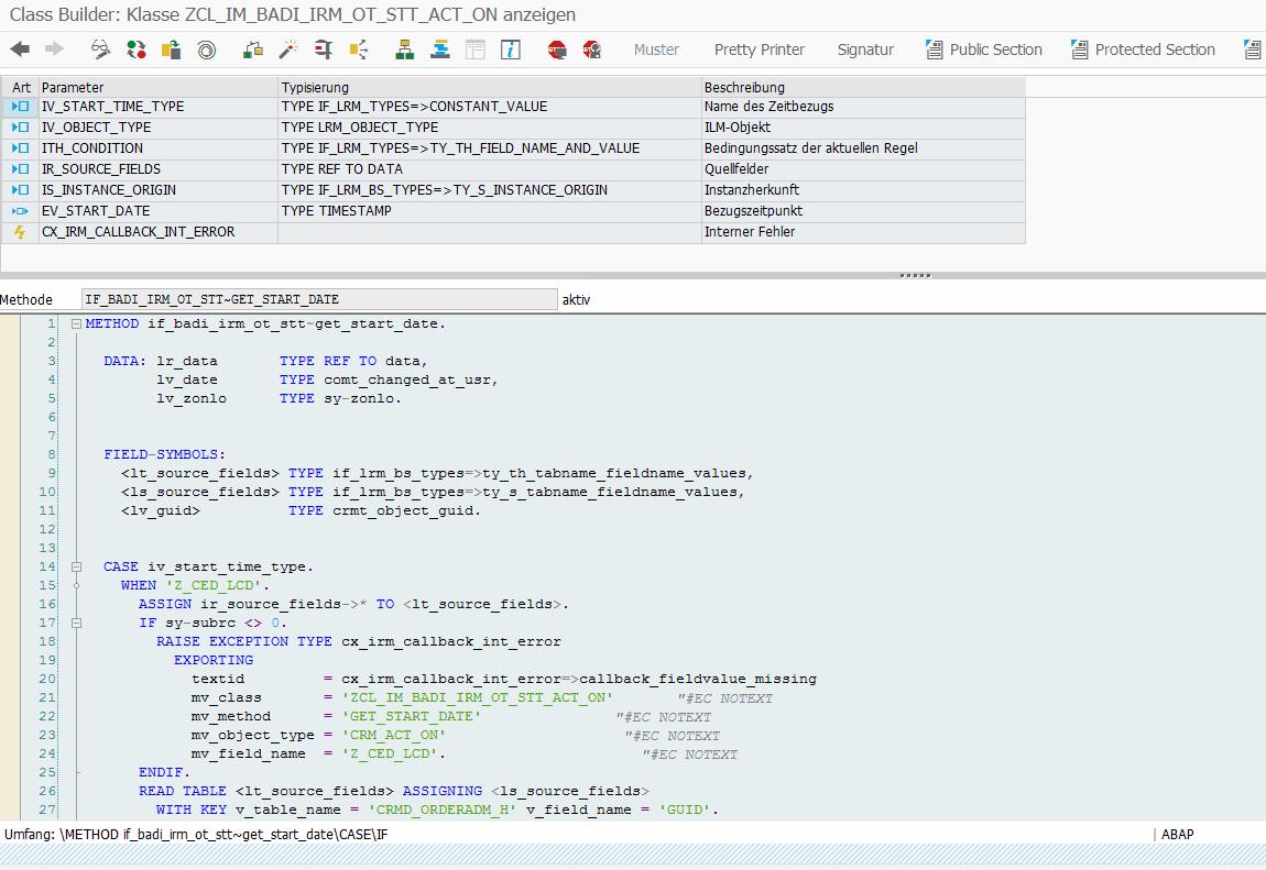 Methode-GET_START_DATE