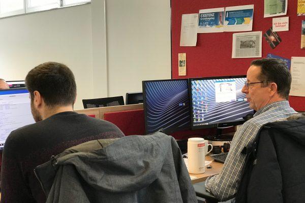 Coworking Space Speyer - Albert und Hidir 3