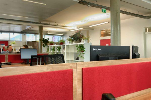 Coworking Space Speyer - Großer Coworking Bereich