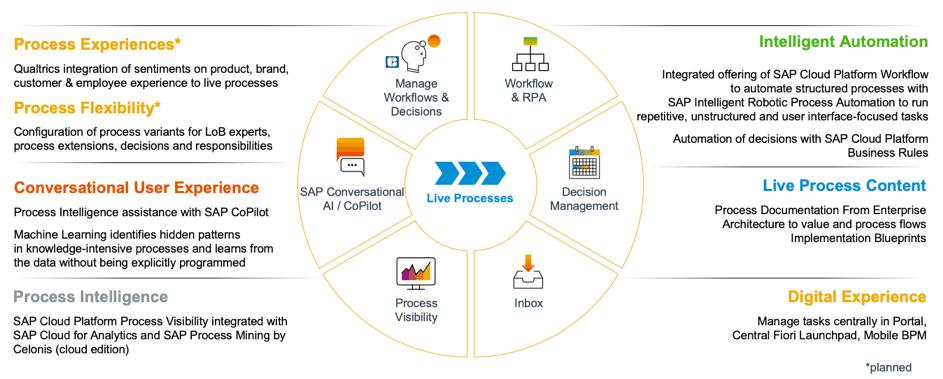 SAP Intelligent Business Process Management Übersicht